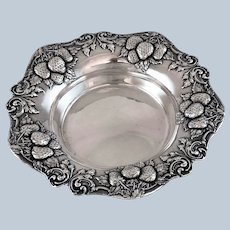 Woodside Sterling Silver Strawberry Dish – c 1920