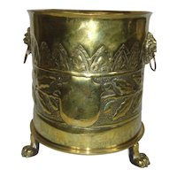 WW1 Brass Patronenfabrik Karlsruhe Trench Art Shell
