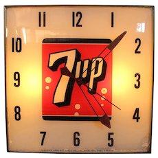 7-UP Light Up Wall Clock