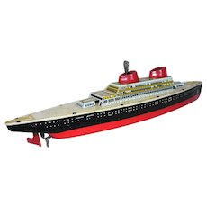 Wolverine Tin Litho Cruise Ship