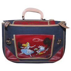 Vintage 1953 Walt Disney Alice In Wonderland WD30 School Bag