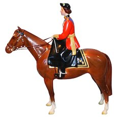 Beswick Queen Elizabeth Trooping The Colour 1957