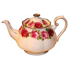 Royal Albert Old English Rose Teapot