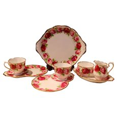 Royal Albert Old English Rose Completer Pieces