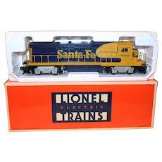 Lionel O Scale Santa Fe Diesel Locomotive