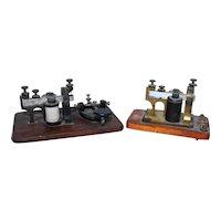 Vintage Telegraph & Sounder Key