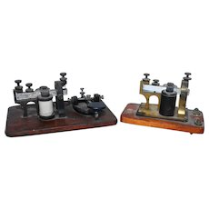 Vintage Telegraph & Sounder Key