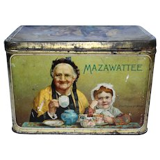 Mazawattee Tea Tin