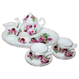 Shelly Ann Collection Miniature Tea Set