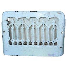 Antique Cast Iron Heat Register