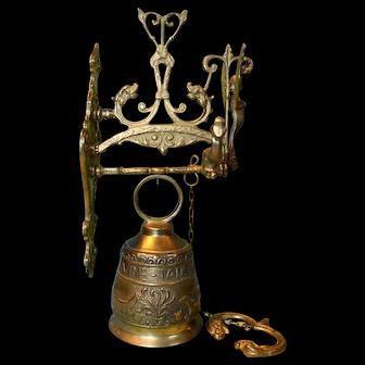 Brass Gate Bell