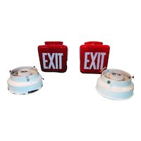 Original Ruby Red Exit Lights
