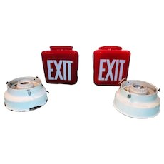 Original Ruby Red Exit Lights