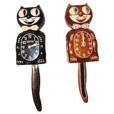 Vintage Kit Cat Wall Clocks