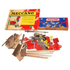 Vintage Meccano Sets + Pieces