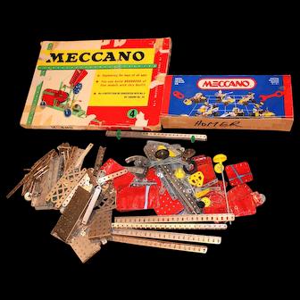 Vintage Meccano Sets + Pieces