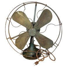 Vintage General Electric 3 Speed Oscillating Fan