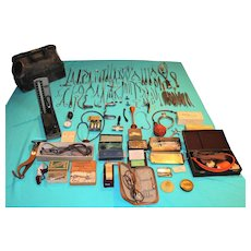 Doctor's Medical Bag, Surgical Tools & Instruments