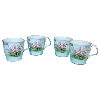 Royal Albert Blossom Time Coffee Mugs