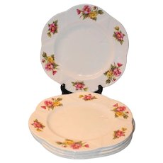 Shelley Begonia Dainty Dinner Plates