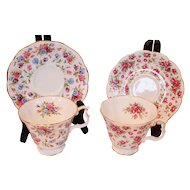 Royal Albert Nell Gwynne Series Cups & Saucers