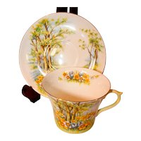 Shelley Daffodil Time Cup & Saucer