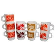 Anchor Hocking Fire King Coffee Mugs
