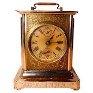 Vintage Junghans Carriage Clock