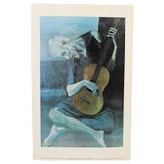 "Pablo Picasso ""The Old Guitarist"""