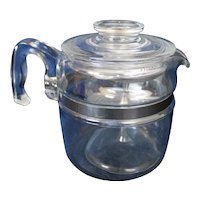 Pyrex 6 Cup Coffee Percolator