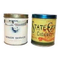 Vintage Cigarette Tobacco Tins