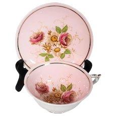 Paragon Daisies & Wild Roses Cup & Saucer