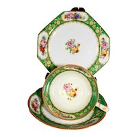 Paragon 3 Piece Floral Cup & Saucer & Dainty Plate