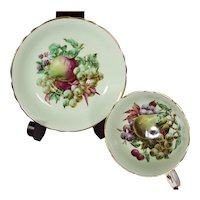 Paragon Fruit Center Cup & Saucer