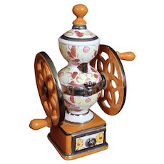 Cesare Coffee Mill Grinder Decanter
