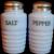 Jeannette Delphite Salt & Pepper shakers