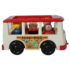 Fisher Price Mini Bus #141