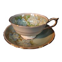 Paragon Hydrangea Cup & Saucer