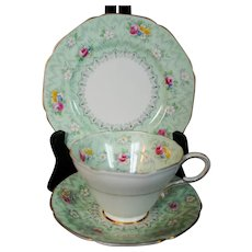3 Piece Paragon Cup Saucer and Bread & Butter Plate
