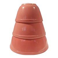 Pyrex Pink Flamingo Mixing Bowls