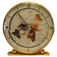 Kieninger & Obergfell World Clock West Germany