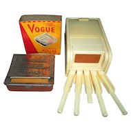 Vogue Cigarette Roller and Dispenser