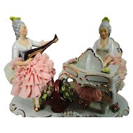 Dresden Laced Musical Figurine (1)