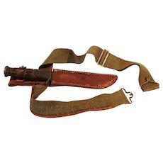 WW2 USMC Ka-Bar Combat Knife