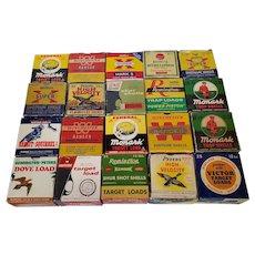 Vintage Shotgun Shell Boxes (Empty)