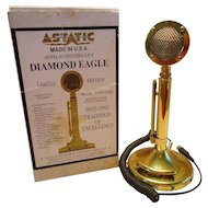 Astatic TUP9D104DE Diamond Eagle Amplified Desk Microphone