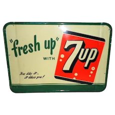 Fresh Up With 7Up Sign STMS