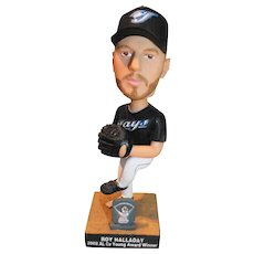 Roy Halladay Toronto Blue Jays 2003 Cy Young Award Bobblehead