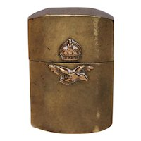 WW2 Royal Air Force Trench Art Lighter