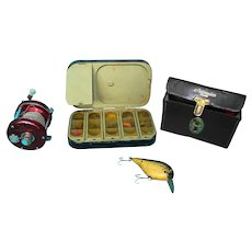 Vintage Fishing Lot Hardy Ambassadeur Lure